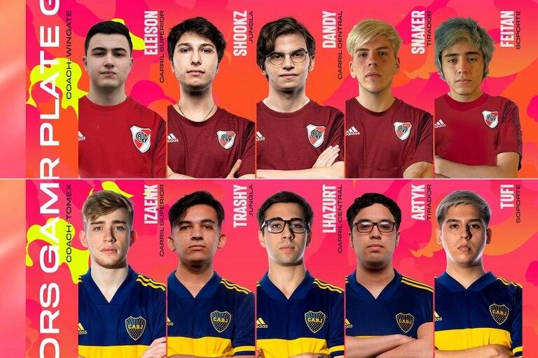 Los equipos de esports de River y Boca se enfrentan este viernes en la Liga Master Flow de League of Legends
