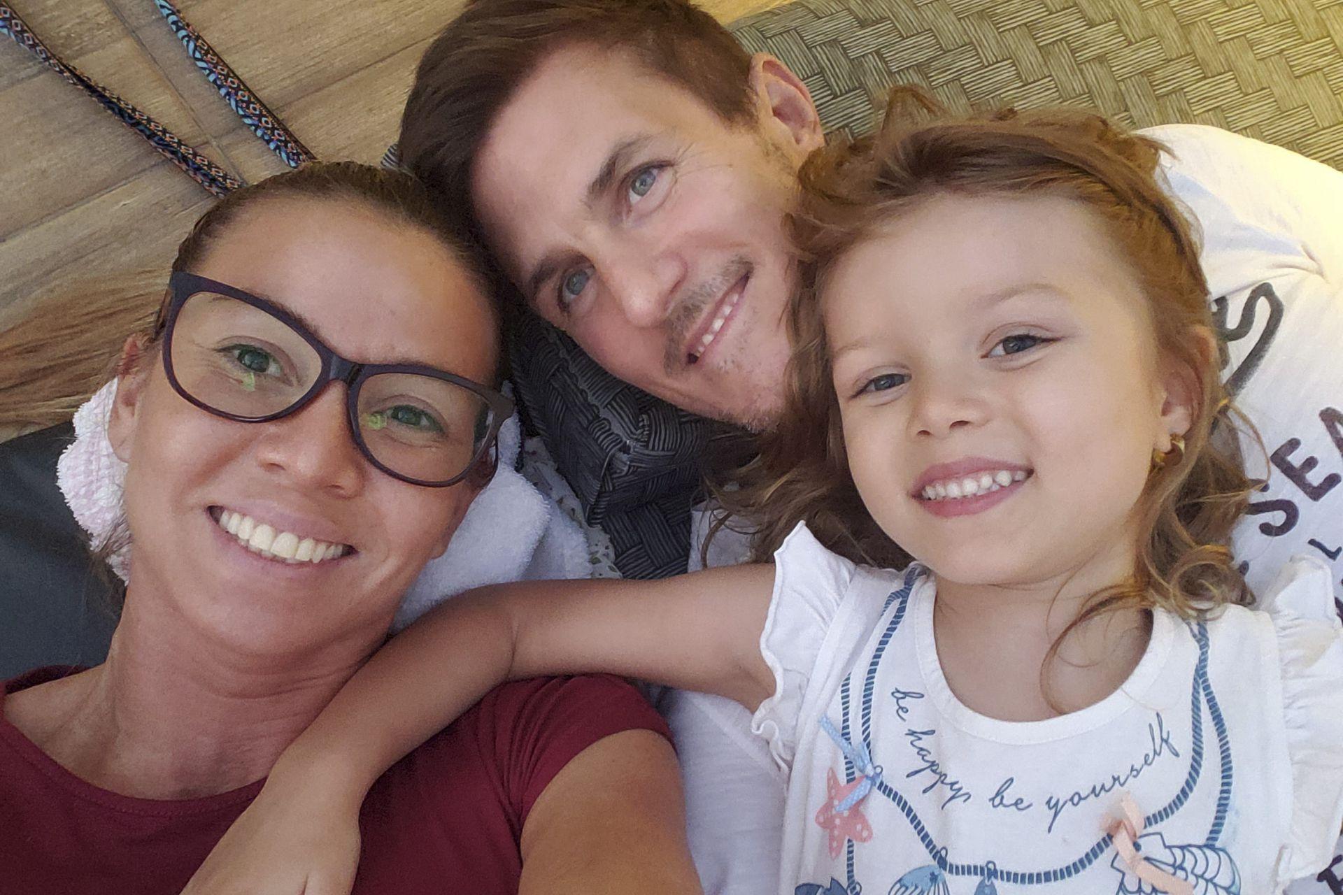 Dallys Ferreira se enamoró del productor comercial Nicolás Sporleder y hoy tienen juntos una hija de 5 años, India