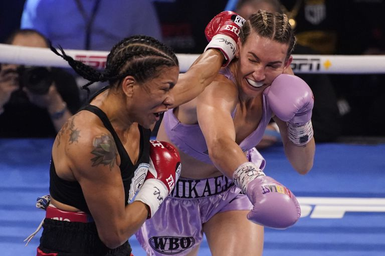 La argentina Érica Farias perdió con la estadounidense Mikaela Mayer, en Las Vegas.