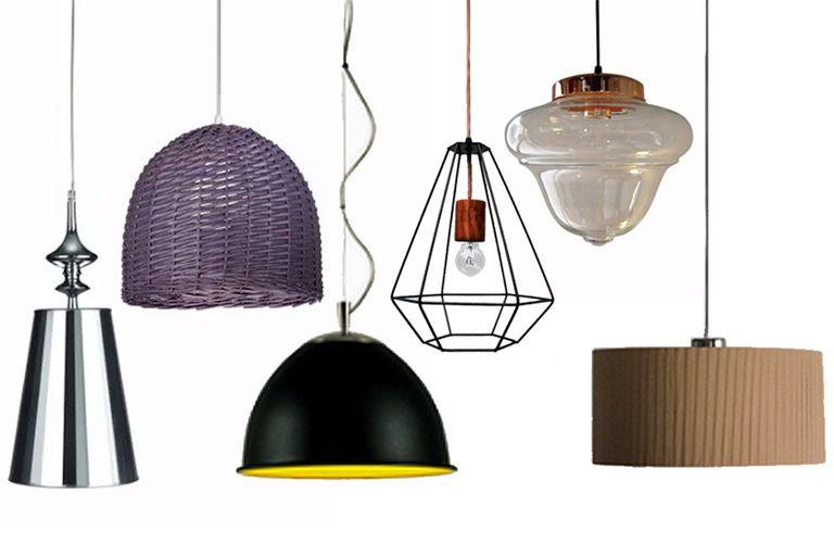 Lámparas colgantes: diseños por menos de $1000
