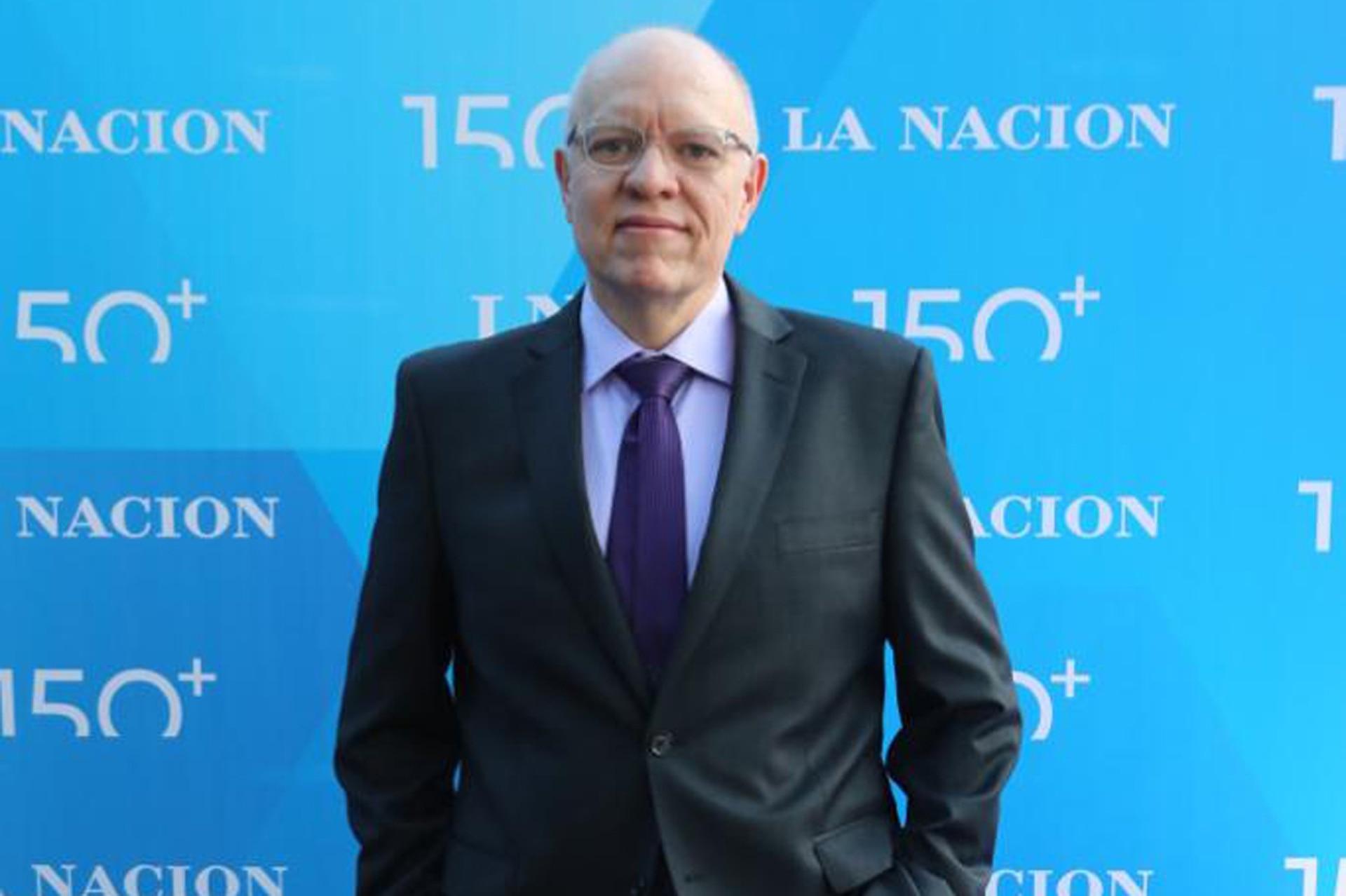 El periodista y escritor Jorge Fernández Díaz, en la celebración por los 150 años de LA NACION