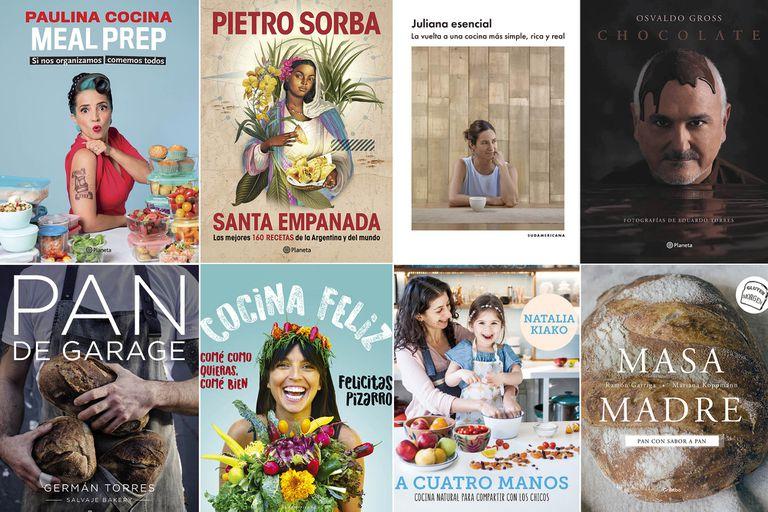 Apetito lector. Lo nuevo de Paulina Cocina, Juliana López May y Pietro Sorba nutre las bibliotecas