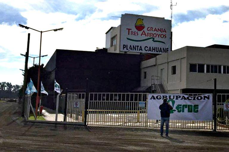 La planta de Tres Arroyos, en Capitán Sarmiento