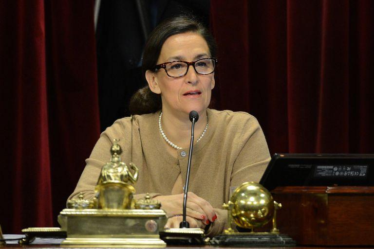 La exvicepresidenta Gabriela Michetti ingresó en una prolongada ausencia pública, luego de que Cambiemos perdió las elecciones