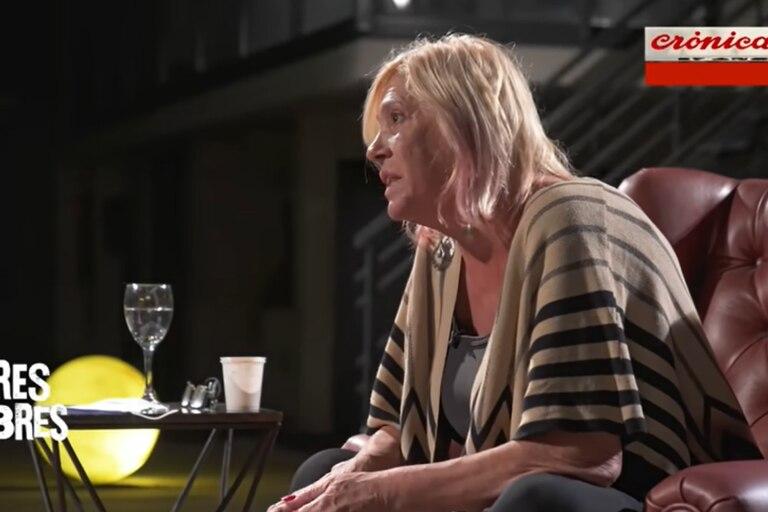 La exvedette se animó a hablar de sus adicciones con Gastón Pauls