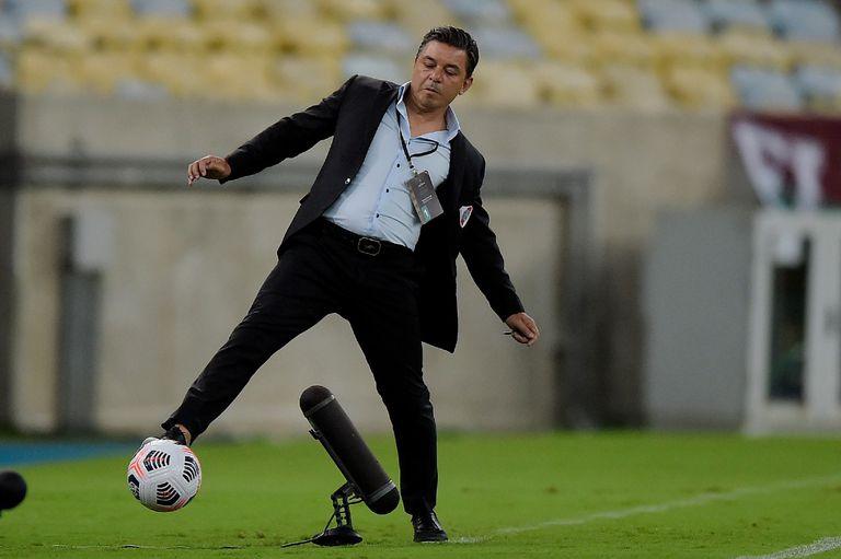 Gallardo. La explicación sobre qué pasó con River frente a Fluminense