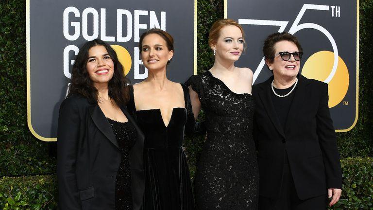 Globos de Oro 2018: todos los looks de la noche
