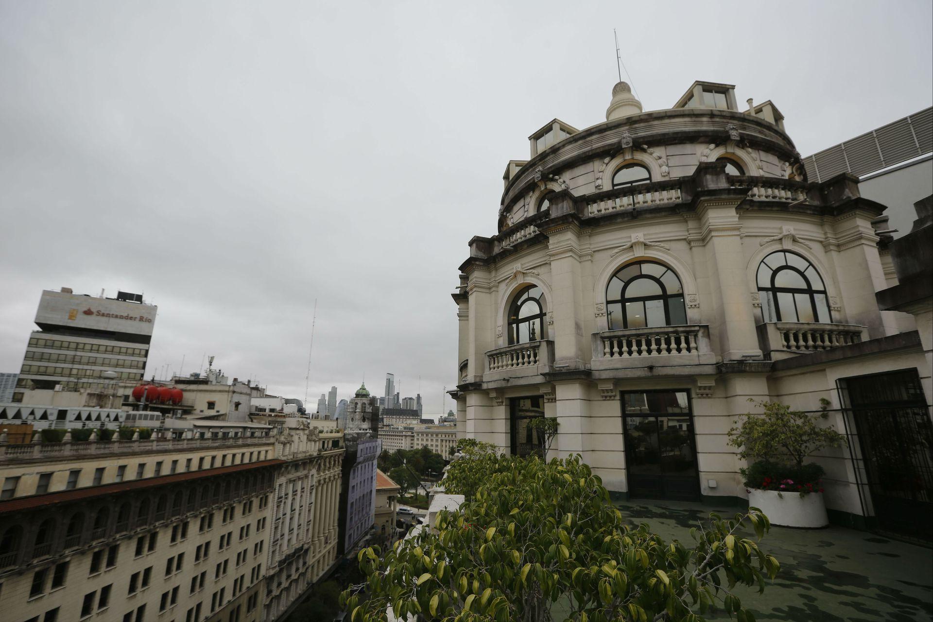 La cúpula del edificio Miguel Bencich