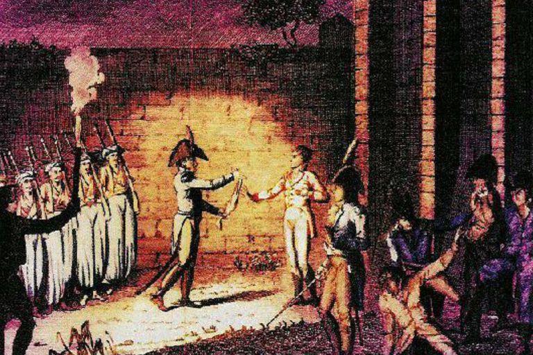 La ejecución del duque de Enghien