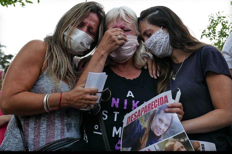 mujer desaparecida en La Falda