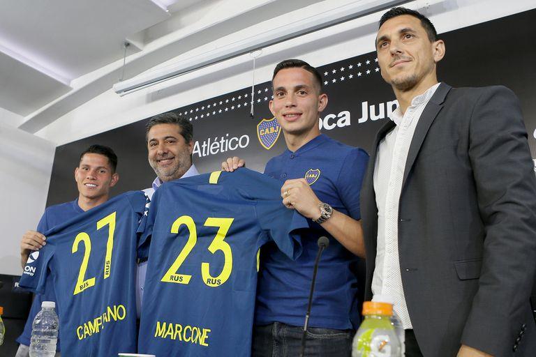 Con Marcone y Campuzano, Boca empieza a retirarse del mercado de pases