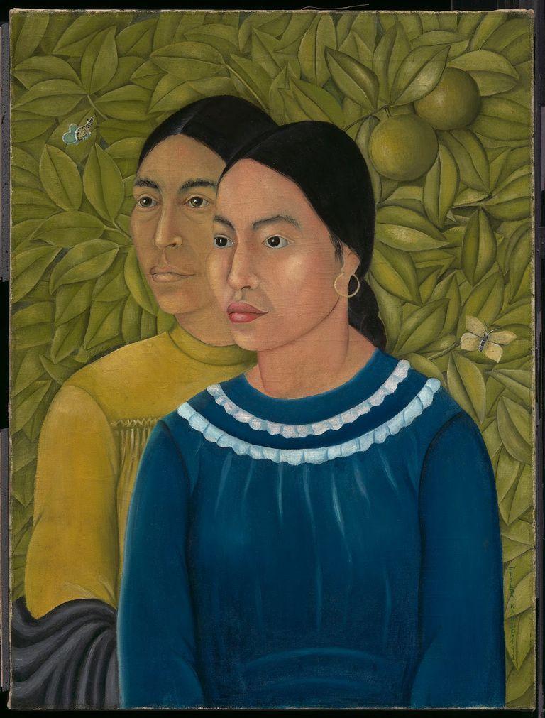 """El cuadro """"Dos mujeres"""", inspirado en la tradición renacentista, estuvo desconocido hasta que fue adquirido y expuesto en el Museo de Bellas Artes de Boston en 2015"""