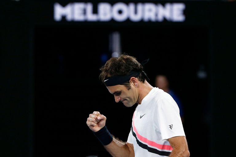 Debut firme de Federer en Australia, y ganaron Djokovic, Wawrinka y Sharapova