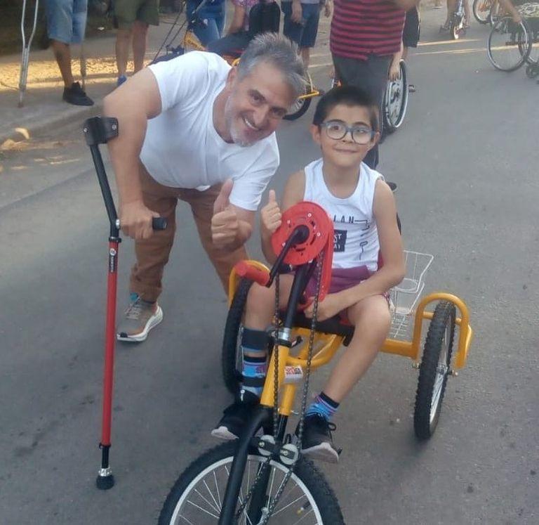Jean Maggi, el reconocido deportista con discapacidad motriz, es parte fundamental del proyecto mendocino que busca contagiar a todo el país.