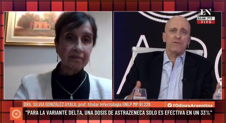 Carlos Pagni entrevistó a la infectóloga Silvia González Ayala