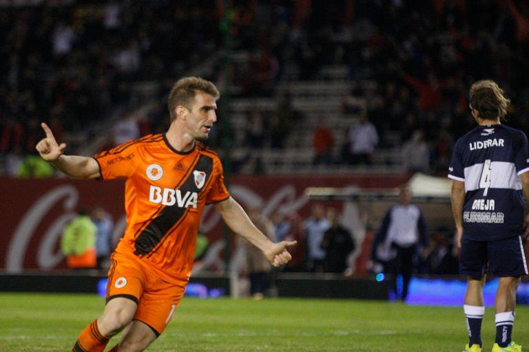Iván Alonso anotó el gol del triunfo de River