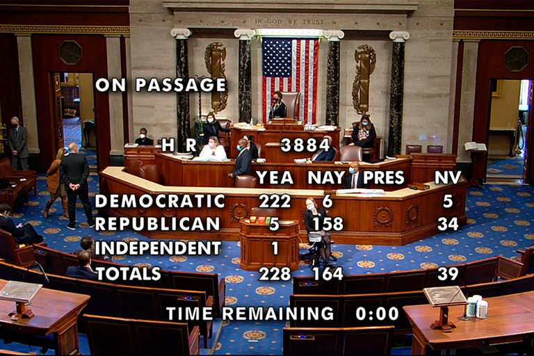 EE.UU.: la Cámara baja aprobó despenaliza la marihuana y define el Senado