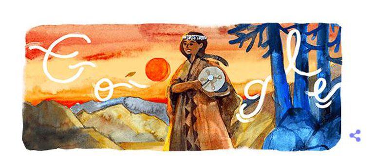 Aimé Painé: Google celebró a la artista mapuche en el día de su cumpleaños
