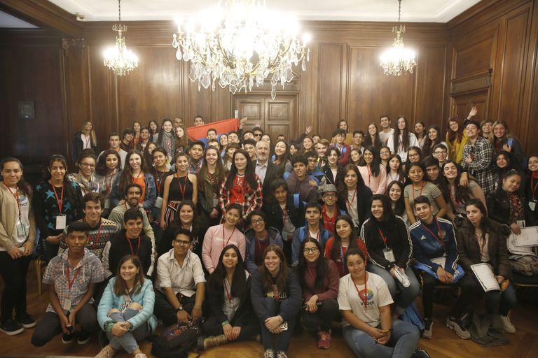 Más de 90 chicos y chicas participaron del Parlamento Federal Juvenil