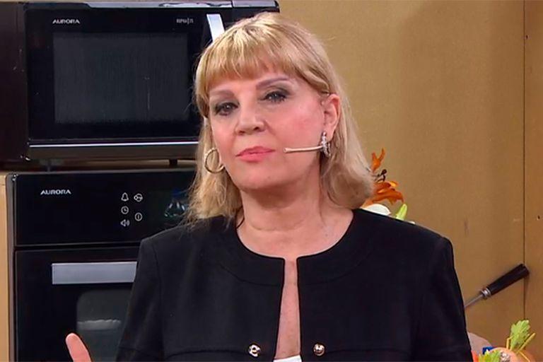 La angustia de Teté Coustarot por la muerte de Elsa Serrano