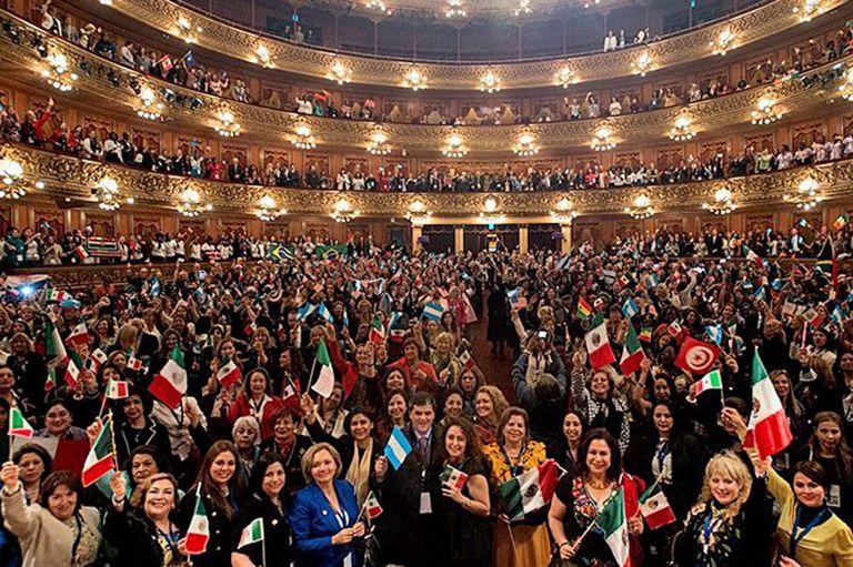 El Teatro Colón fue sede de la 14° conferencia internacional