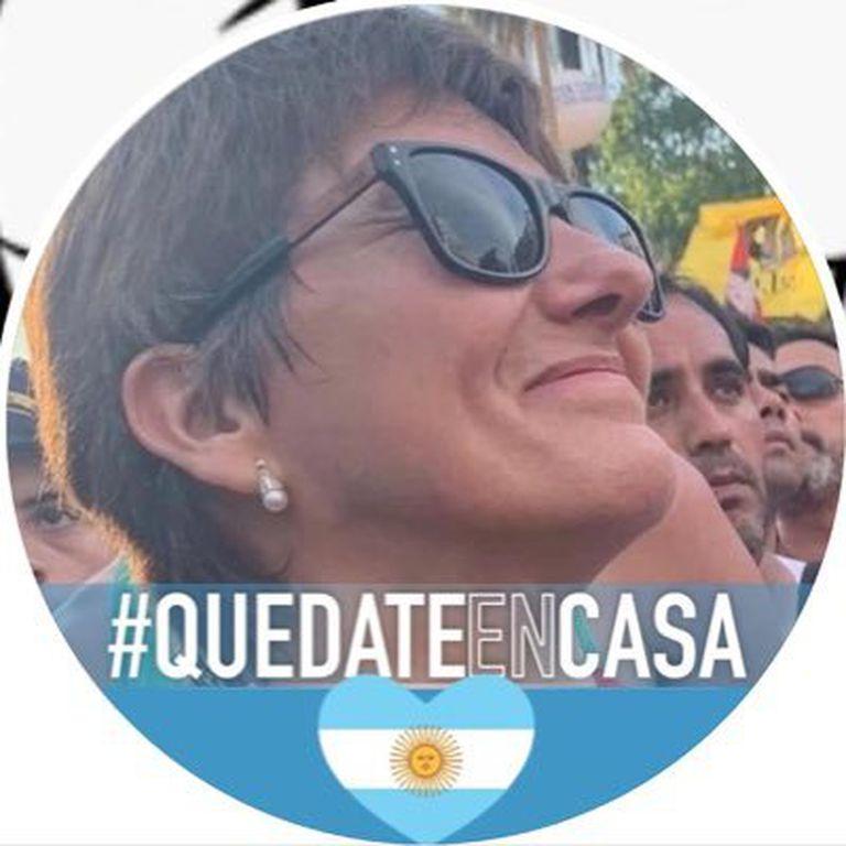 En Twitter, Laura Radetich (@LauraAntiCovid) compartió polémicos mensajes contra el presidente Alberto Fernández, los cordobeses y la oposición