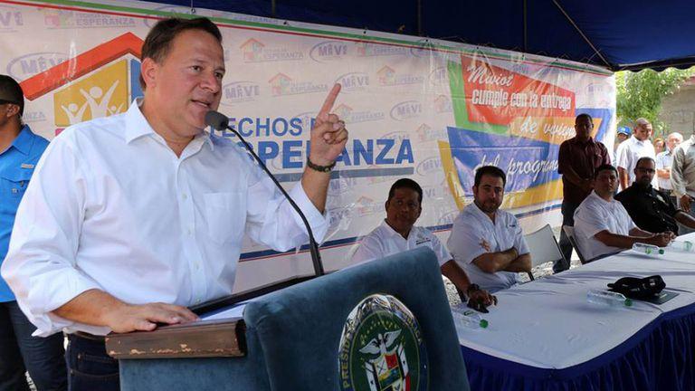 Juan Carlos Varela, dispuesto a colaborar con la investigación. Foto: Facebook
