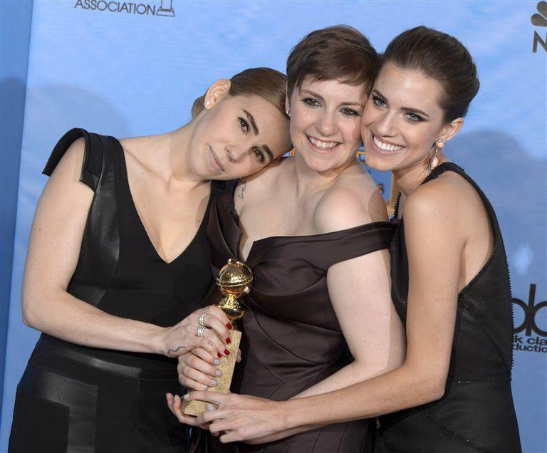 La serie Girls premiada como mejor comedia
