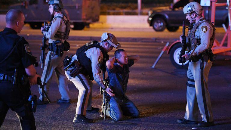 La policía de Las Vegas actuó de inmediato