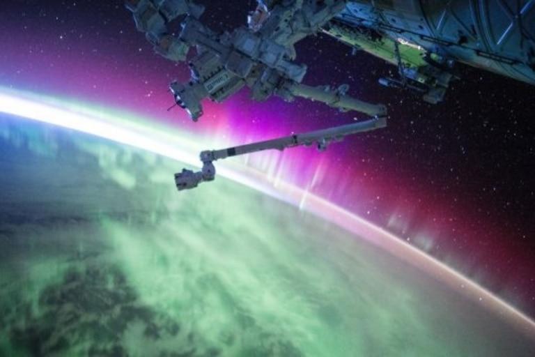 Las vistas desde la nava son impresionantes según aseguran los astronautas