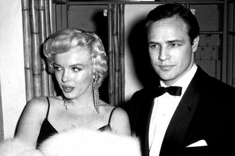 Marlon Brando y Marilyn Monroe.