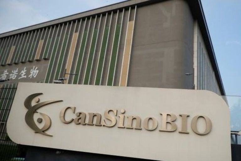 """La vacuna """"CanSino"""" fue desarrollada por el Instituto de Biotecnología de Pekín y la biofarmacéutica china CanSino Biologics"""