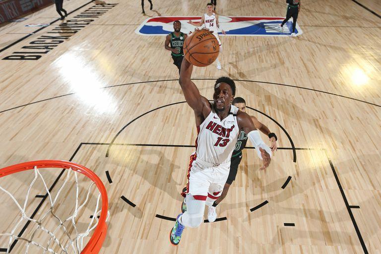 Bam Adebayo, de Miami Heat