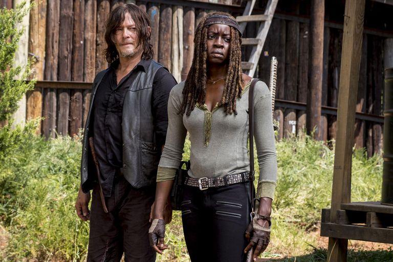 The Walking Dead: Reedus le suplicó a Danai Gurira que no abandonara la serie