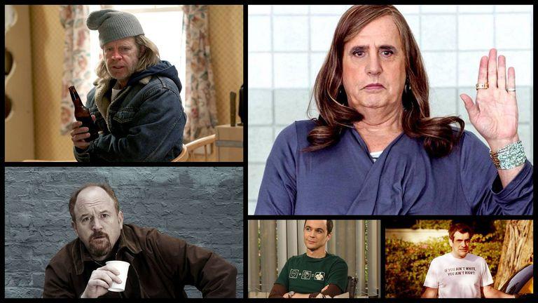 Mejor actor en comedia: William H. Macy, Jeffrey Tambor, Louis C.K., Jim Parsons y Ty Burrell