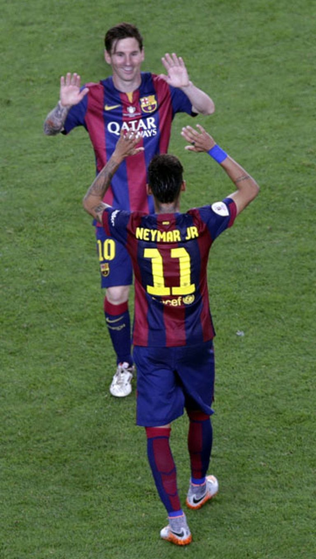 Messi, Suárez y Neymar, una relación sin fronteras