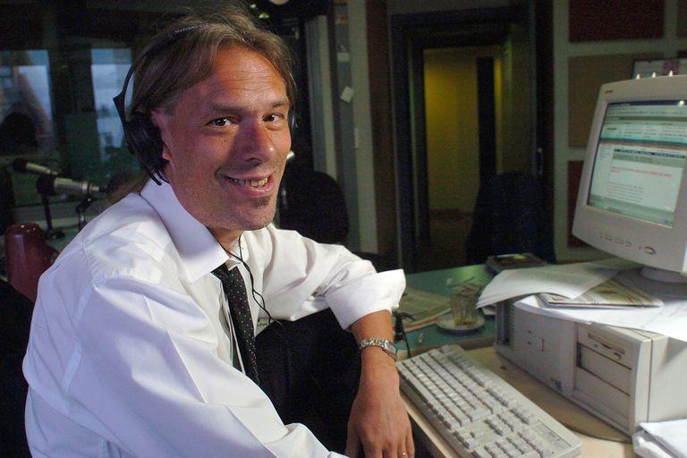 """Marcelo Zlotogwiazda en su programa de radio """"Aire Comprimido"""" el 10 de noviembre de 2004"""