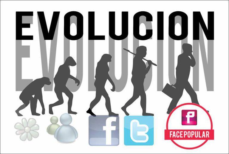 Promoción del FacePopular en su muro de Facebook