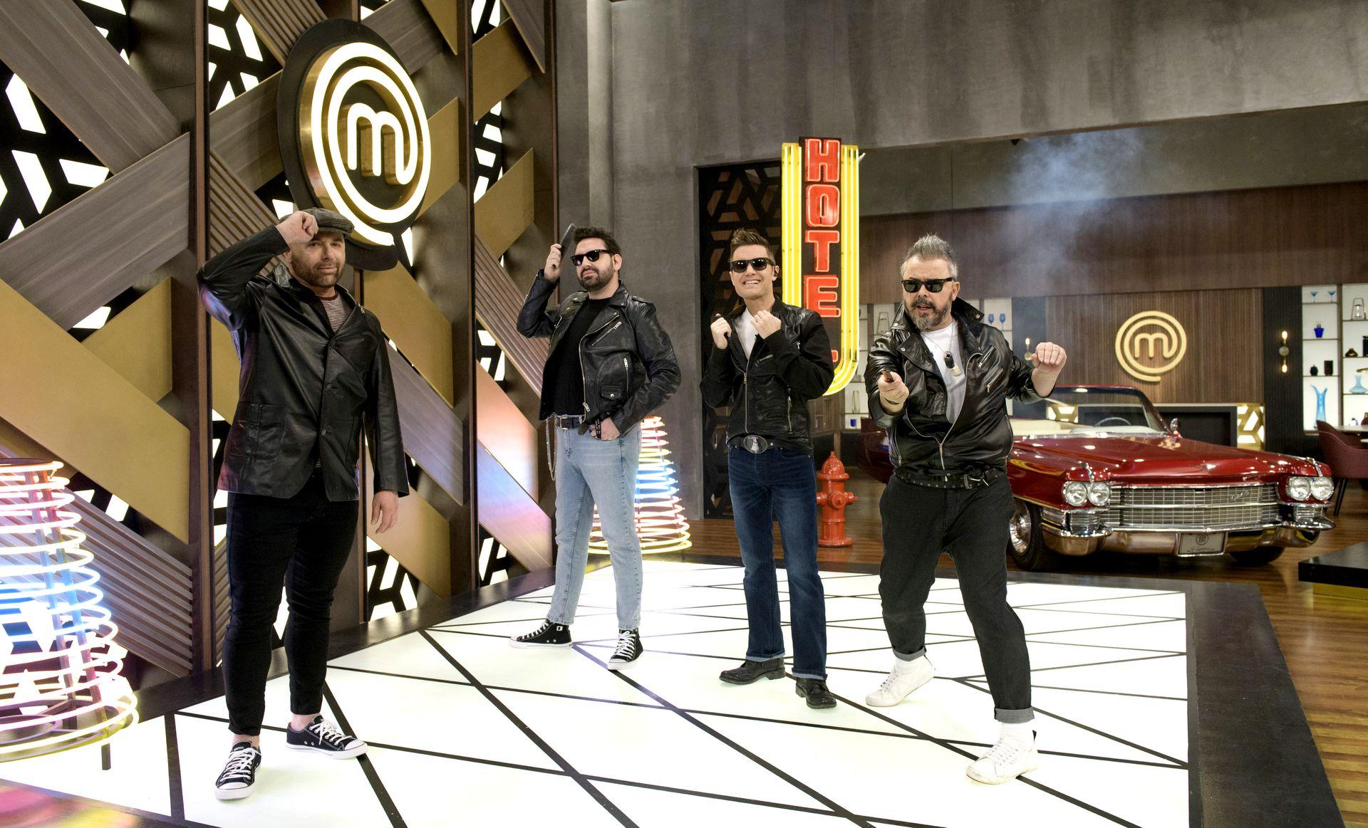 Masterchef Celebrity, el exitoso formato de Telefe conducido por Santiago del Moro y con la participación de los chefs Damián Betular, Germán Martitegui y Donato de Santis