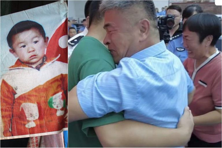 Guo Gangtang buscó incansablemente a su hijo secuestrado por 24 años, este martes 13 de julio se reencontró con él