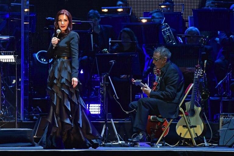 Priscilla Presley será la maestra de ceremonias del espectáculo Elvis Live in Concert, esta noche en el Luna Park