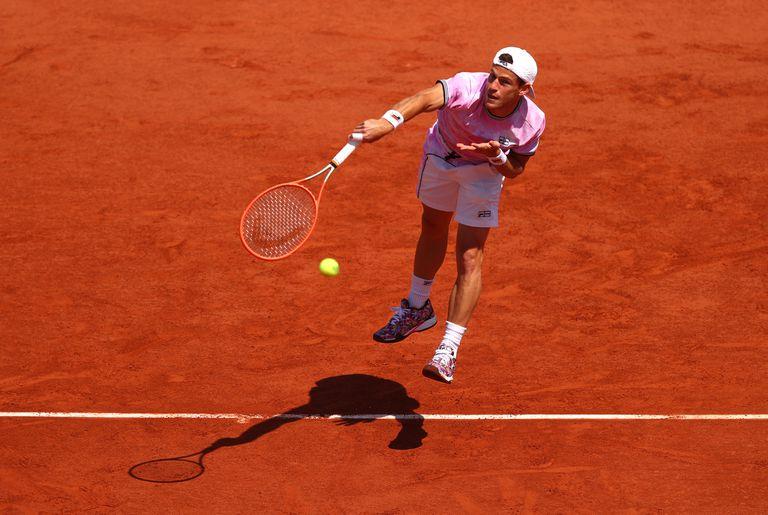 Diego Schwartzman necesitó tres horas para ganarle al alemán Jan-Lennard Struff en Roland Garros