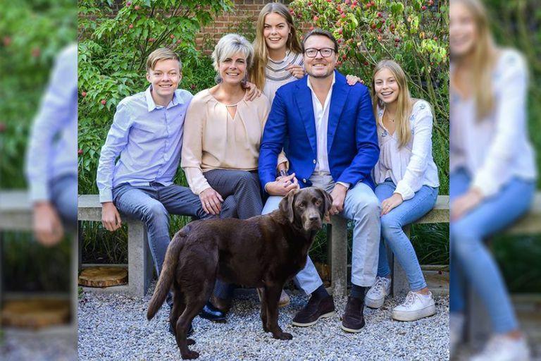 La princesa Laurentien junto a su esposo, el príncipe Constantin y sus tres hijos: la otra familia real de la corona holandesa