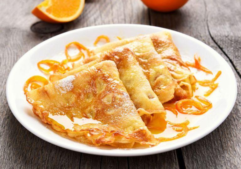 Las Crepes Suzette surgieron por casualidad, en una mesa donde el Príncipe de Gales solía ir a comer en la Costa Azul francesa