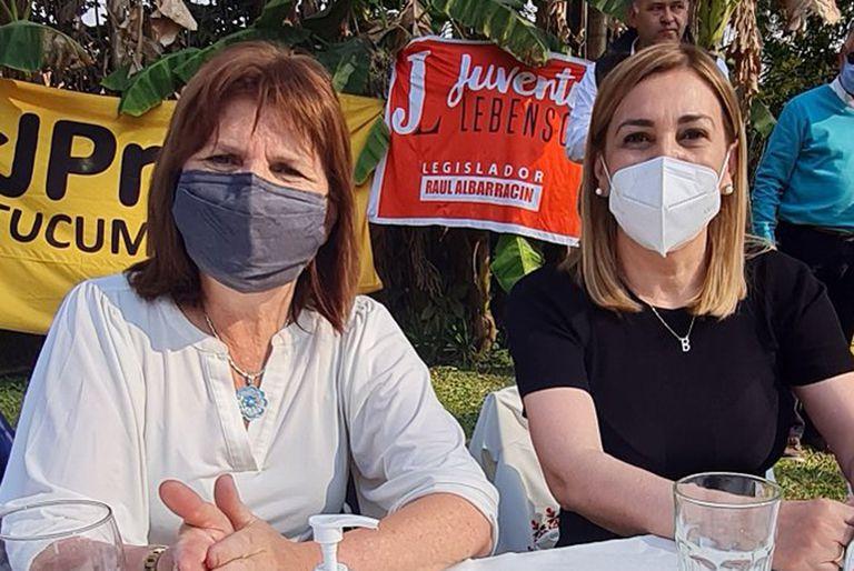 Patricia Bullrich y Beatriz Ávila, en Tucumán