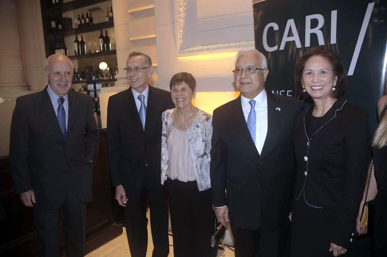 El Consejo Argentino para las Relaciones Internacionales (CARI) cumplió 40 años y lo celebró en La Rural con una cena a la que asistieron cientos de invitados