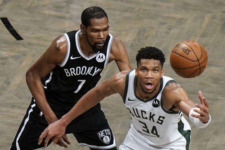 Kevin Durant y Giannis Antetokounmpo: las dos figuras que se adueñaron del show de la NBA