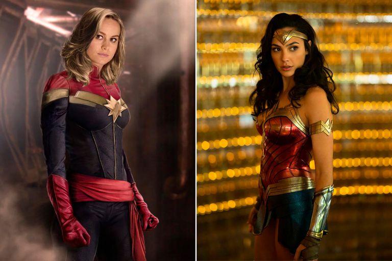 Gal Gadot y Brie Larson: el mensaje de amor de las más grandes heroínas