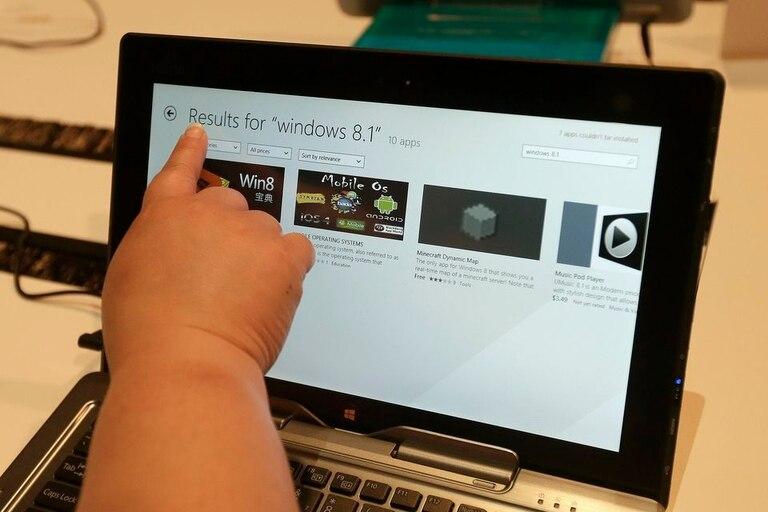 Windows 8.1 aún no logra dominar la escena de las computadoras personales, relegado por Windows 7 y el longevo XP