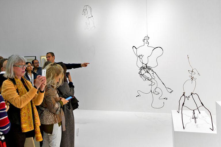 En fotos: un adelanto de la muestra de Alexander Calder en Fundación Proa